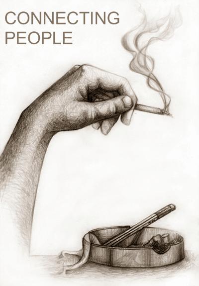 как бросить курить? - горло курильщика