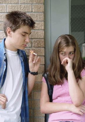 курение в школе